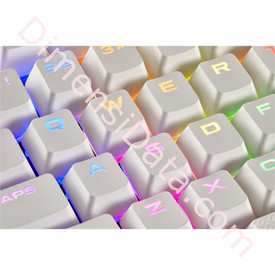 Jual Gaming Keycaps CORSAIR PBT Double-Shot Full 104/105 Keyset [CH-9000234-WW] White